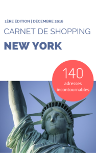 Carnet de Shopping à new york