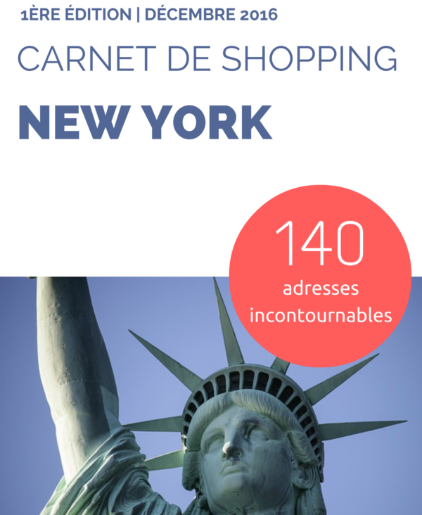 Carnet de Shopping New York