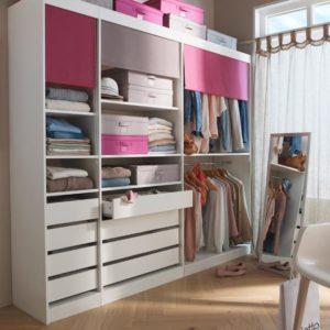 Aménager un dressing dans une chambre - Castorama