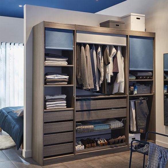 dressing dans une chambre des id es pour s 39 inspirer. Black Bedroom Furniture Sets. Home Design Ideas