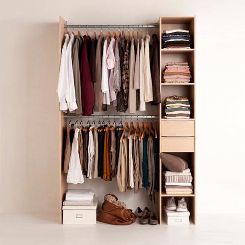 Des idées pour aménager un dressing dans une chambre