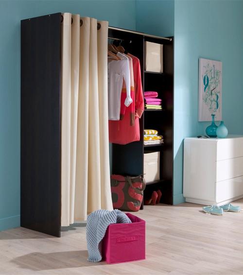 Dressing Chambre Avec Rideau - onestopcolorado.com -