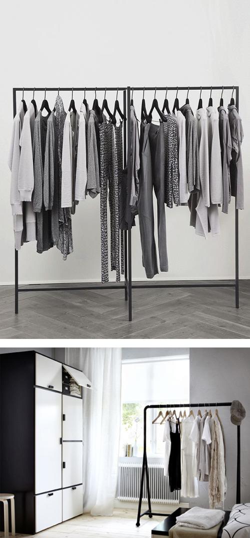 d co des id es pour emm nager un dressing dans une chambre. Black Bedroom Furniture Sets. Home Design Ideas