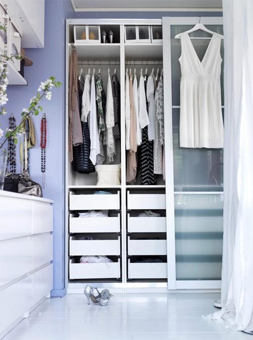 Aménager un dressing dans une chambre - Ikea