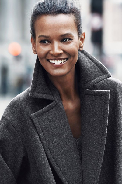 collection H&M automne 2014 Liya Kebede