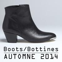 10 boots et bottines talons plats pour l'automne 2014