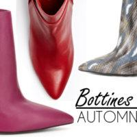10 bottines en cuir à talons hauts pour l'automne 2014