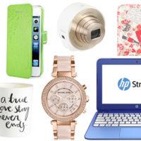 Cadeaux Noël 2014 – 50 idées pour ELLE (mode, déco, hi-tech, voyage)