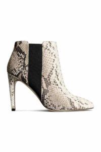Bottines en cuir H&M printemps 2015