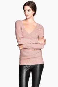 Pull en cachemire H&M printemps 2015