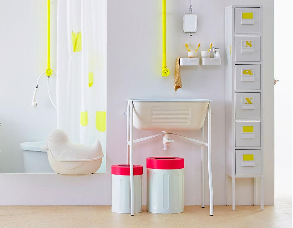 Sprutt la collection capsule sp cial salle de bain ikea - Tour de rangement salle de bain ...