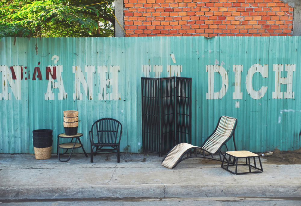 chaises en rotin ikea