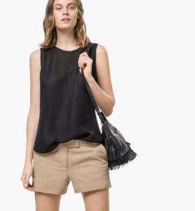 t-shirt sans manches Massimo Dutti printemps 2015