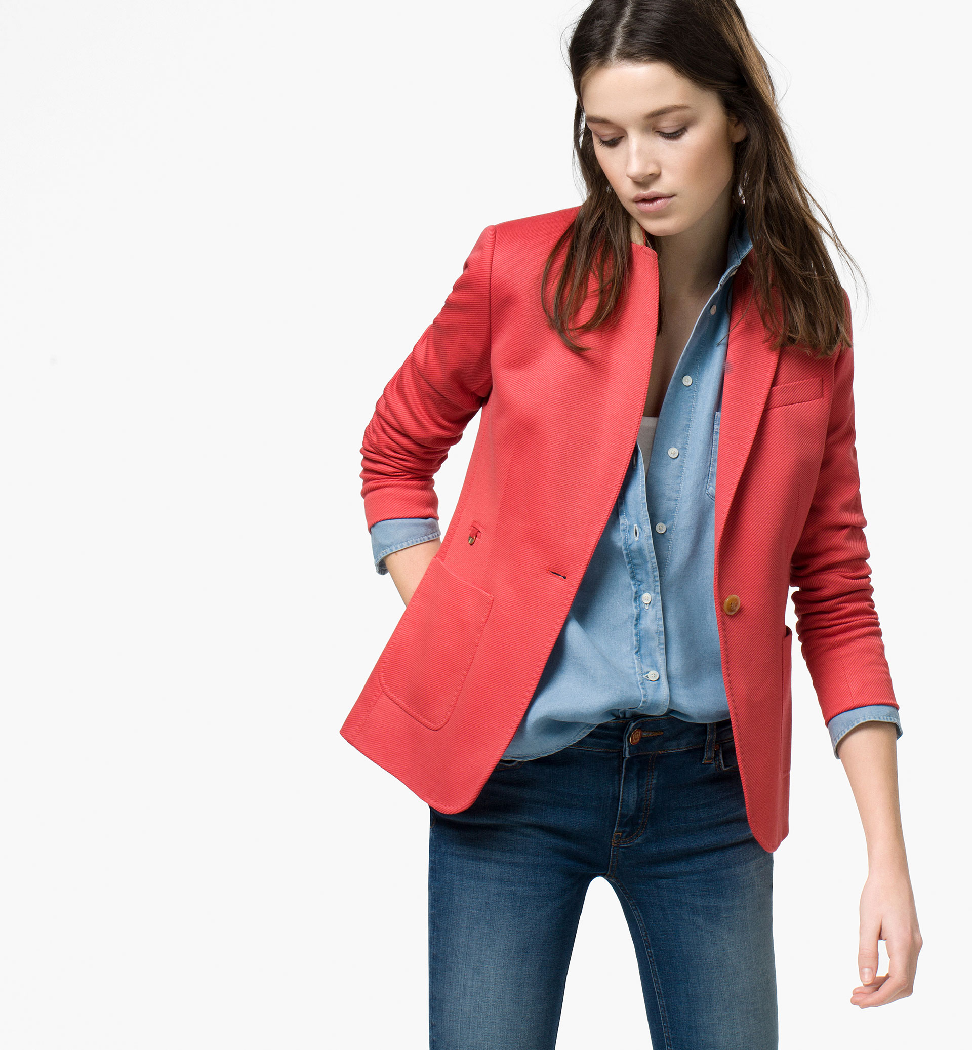 Tendance veste cuir femme 2015