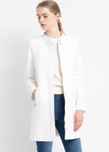 Manteau en coton et lin mango printemps-été 2015