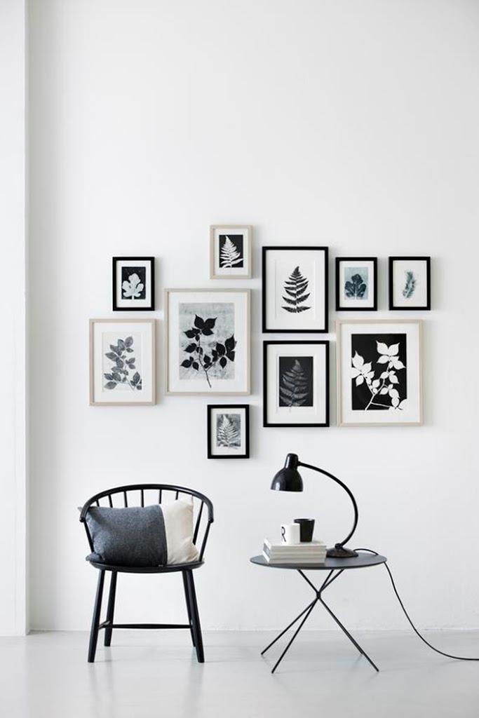 d co 10 murs de cadres pour s 39 inspirer carnet de shopping. Black Bedroom Furniture Sets. Home Design Ideas
