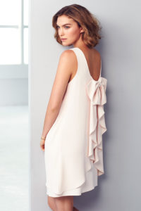 Lauren bow dress (Pink), £129.00, Coast London