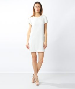Robes blanches - Robe noeud dos JALLY - Etam