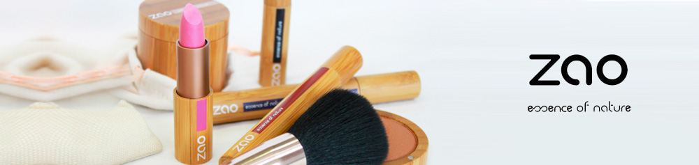maquillage naturel - ZAO Cosmetics