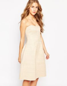 Soldes Asos hiver 2016 - Robe bandeau Glamourous