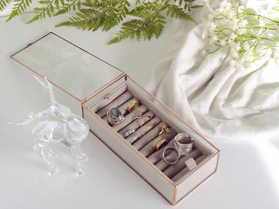 Boîte à bijoux en verre, Alexa Workshop