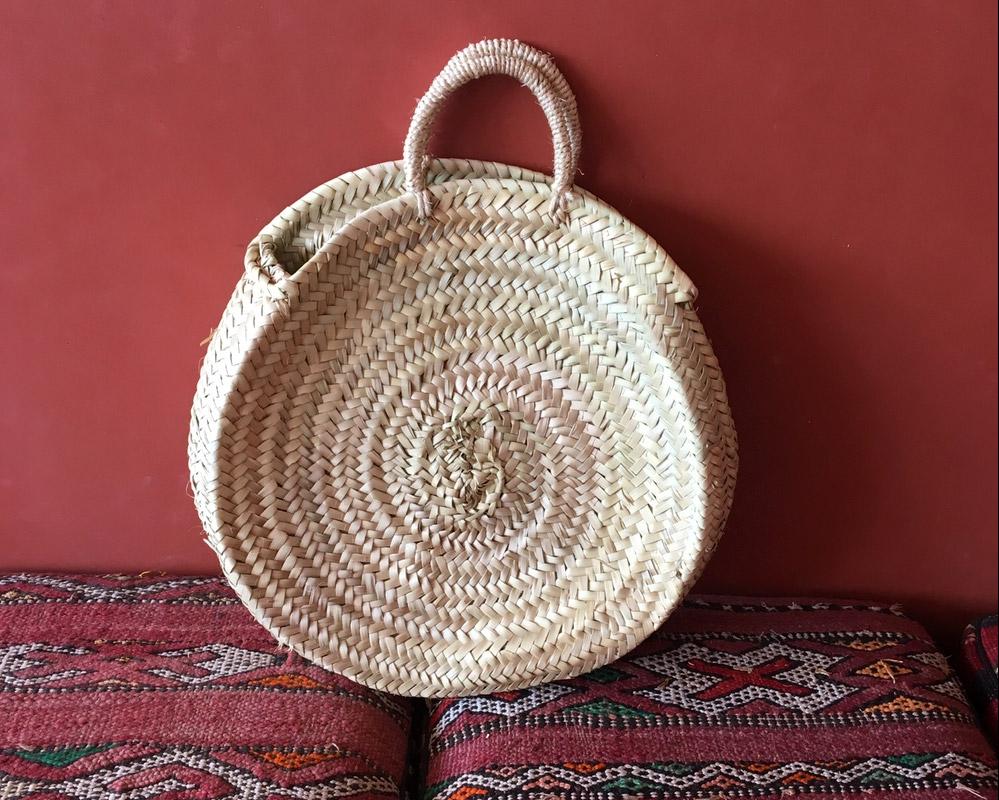 Paniers ronds - Panier marocain rond Jabe