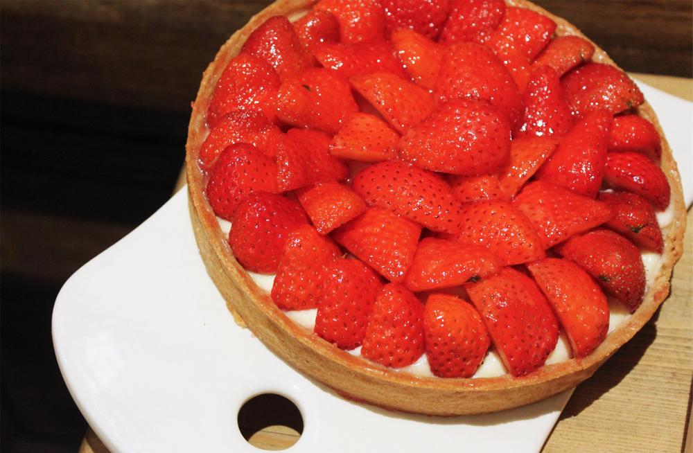 Carte d'été - Le Pain Quotidien / Tarte aux fraises Le Pain Quotidien