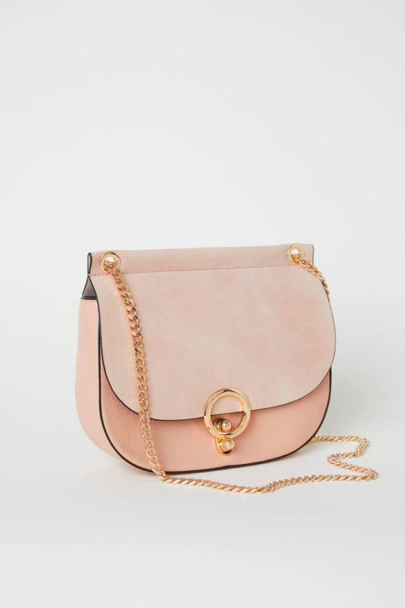 Petit sac bandoulière en cuir, H&M