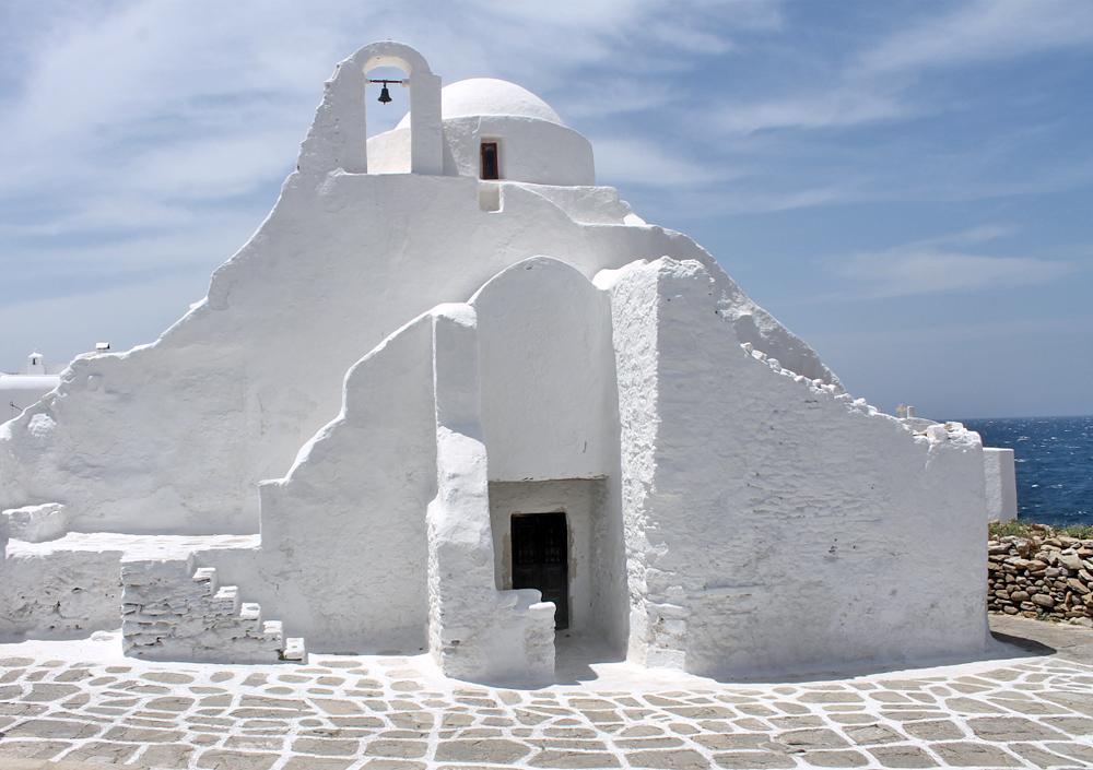 Escapade à Mykonos - Panagia Paraportiani