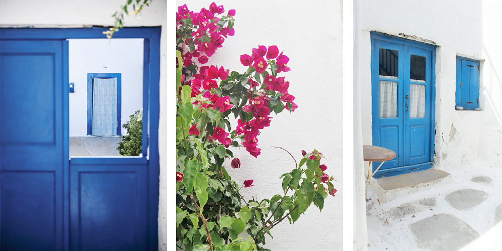 Ruelles de Chora à Mykonos