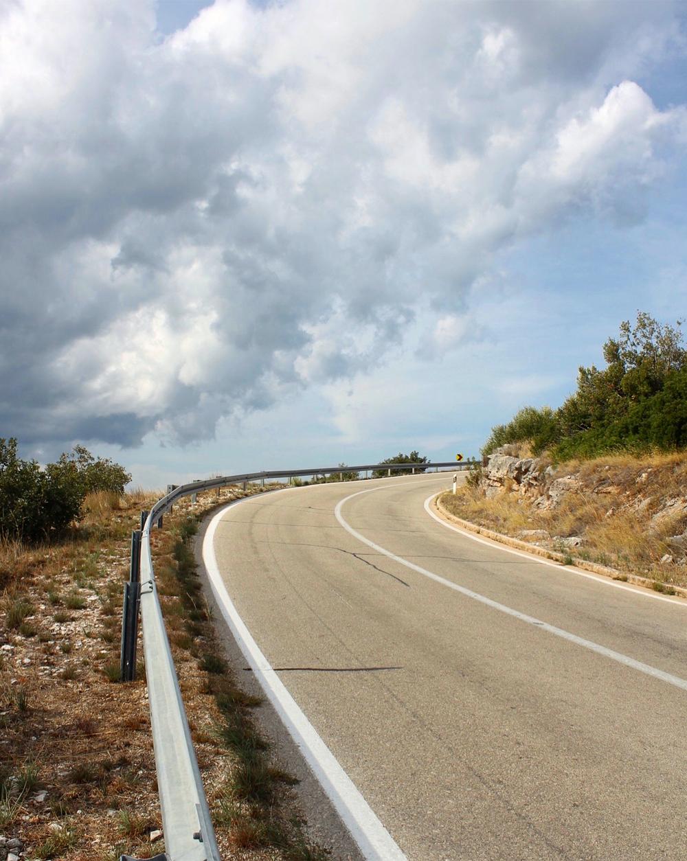 Route de l'Île de Brač