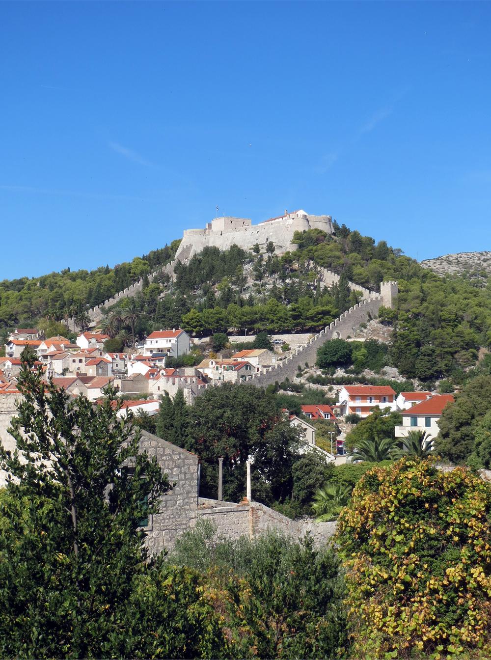 Tvrđava Spanjola Hvar Croatie