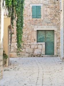 Ruelle de Stari Grad - Île de Hvar - Croatie
