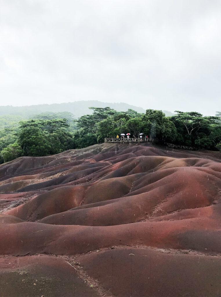 Terre des 7 couleurs - Île Maurice
