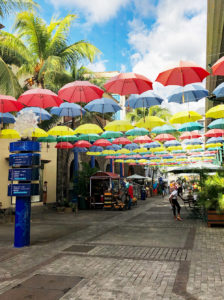 Allée des artistes - Île Maurice
