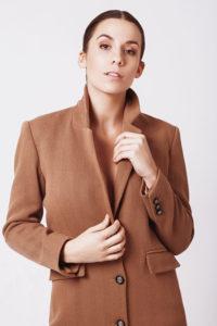 Mode éthique - Manteau en laine Danielle Engel