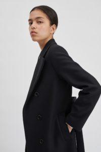 Mode éthique - Manteau en laine et cachemire Filippa K