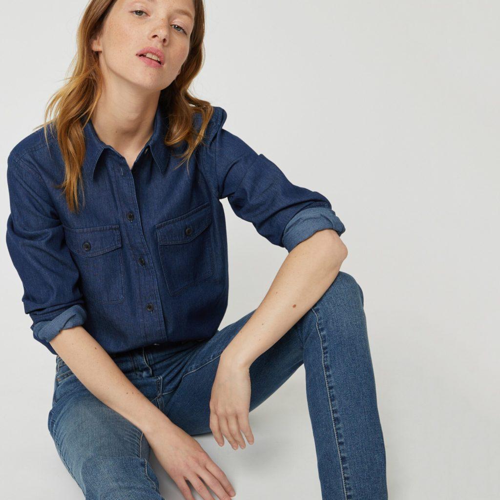Chemise en jean Monoprix