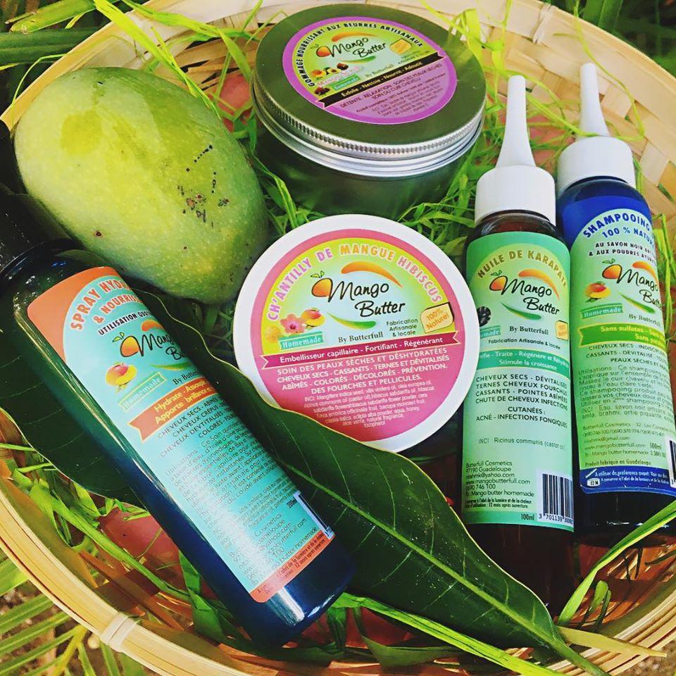 Produits capillaires cheveux crépus Mango Butterfull