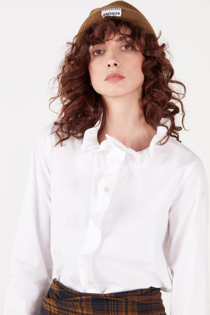 Mode éthique - Blouse en coton Valentine Gauthier