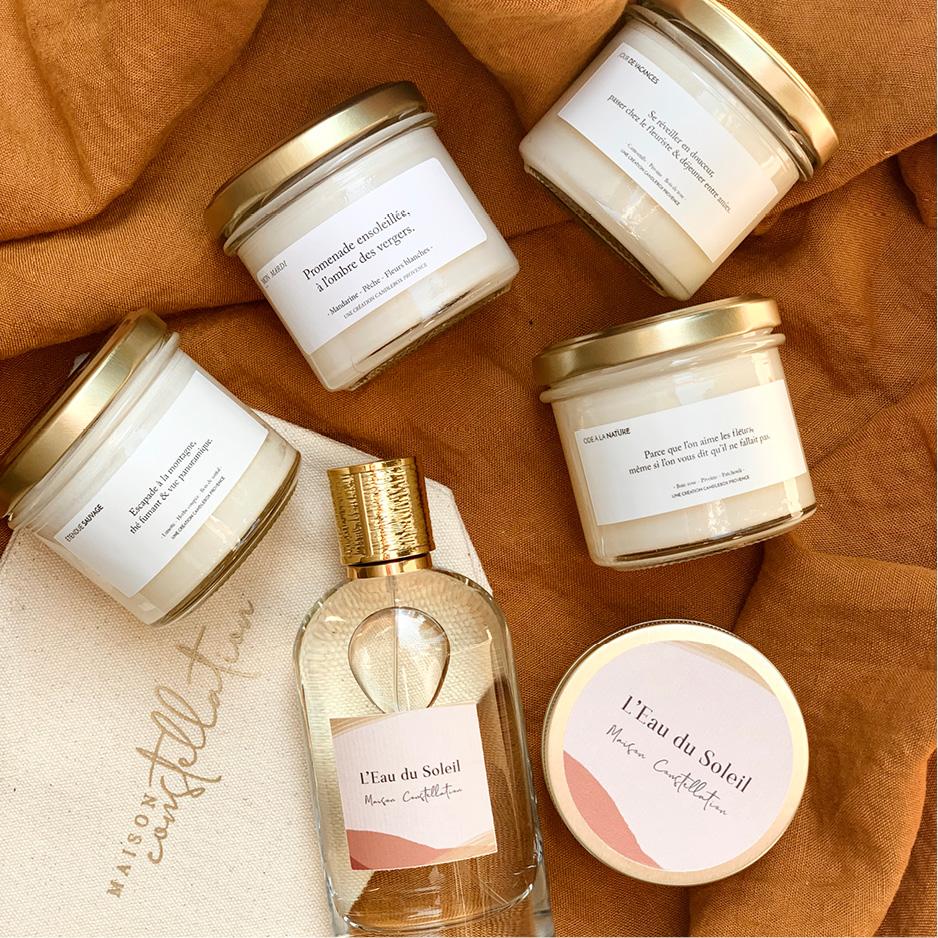 Fête des mères 2020 - Pochette gold edition Candlebox Provence