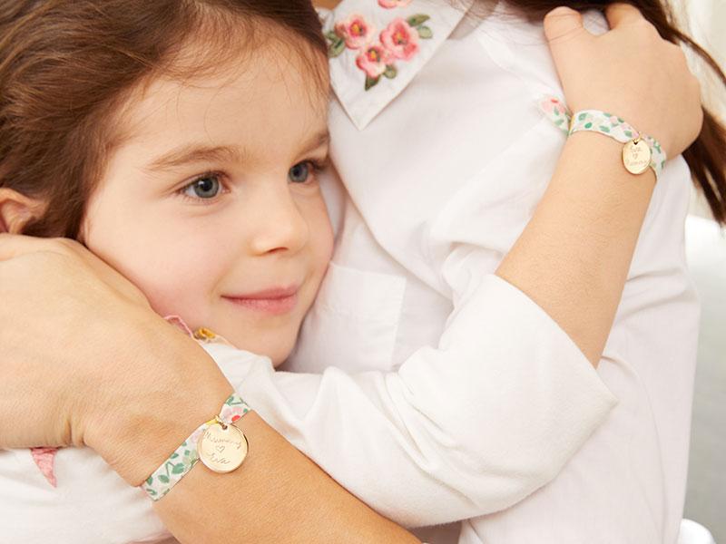 Fête des mères 2020 - Cath Kidston Bracelet Disque Maman & Moi