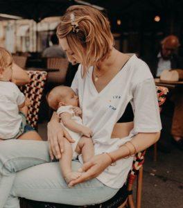 Fête des mères 2020 - T-shirt d'allaitement Tajine Banane