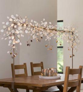 barre décorative de table de Noël Vivaterra