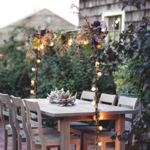 bbarre décorative de table