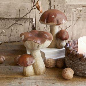 Décoration d'automne - Champignons décoratifs